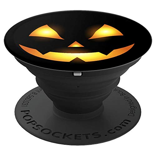 Halloween Pumpkin Scary Gift for Halloween Party - PopSockets Grip and Stand for Phones and Tablets by Hallowen Pumpkins Gadgets