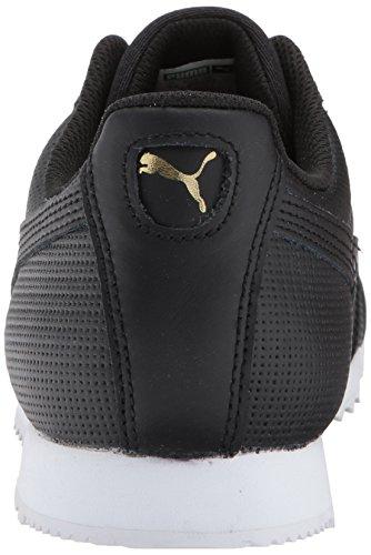Pumas Mens Roma Or Noir Baskets Puma-puma Black Team-puma-blanc Pumas Classique Perf