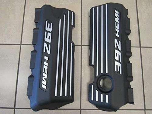(DODGE CHALLENGER CHARGER Set Of Two 392 Hemi Engine Valve Wiring Covers MOPAR)