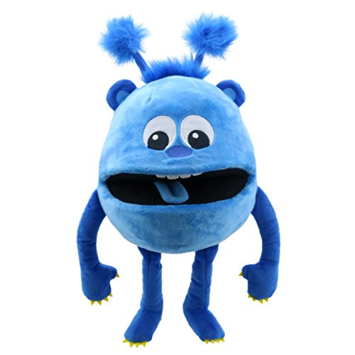 Blue Monster Puppet - The Puppet Company Baby Monsters Blue Monster Hand Puppet