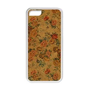 glam flowers personalized high quality cell phone case for ipod touch4