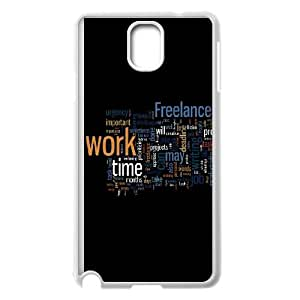 Samsung Galaxy Note 3 Cell Phone Case White Freelance Switch Work Time JNR2155067