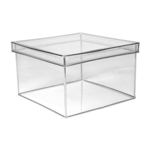 Design Ideas Lookers Box, Square, Large, Clear (Acrylic Boxes compare prices)