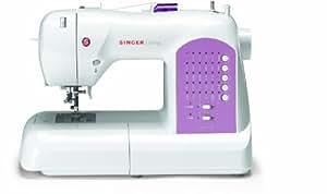 Singer 8763 Curvy - Máquina de coser (30 puntos programados) [importado de Alemania]