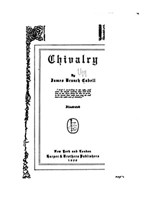 book cover of Chivalry