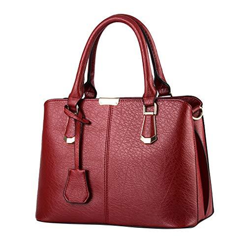 Pengy Women Handbags Large Capacity Fashion Simple Handle Bags Satchel Tote Purse Shoulder Bags