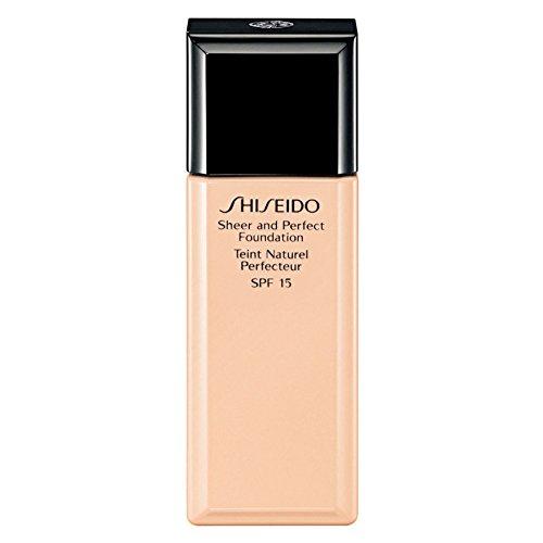 Shiseido Sheer and Perfect Foundation I20 Natural Light Ivory Shiseido Natural