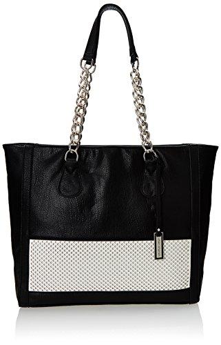 urban-originals-perforated-shopper-shoulder-bag-black-white-one-size-size