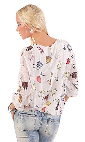 Livan`s - Camisas - para mujer Weiß