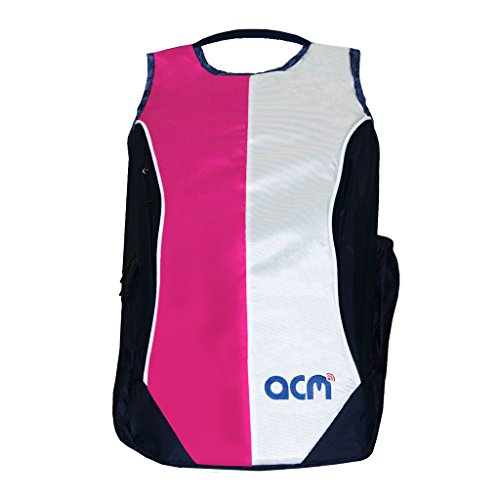 Acm Laptop Backpack Padded Bag Compatible with Lenovo 100 15iby 80mj00b3in 15.6  Laptop Pink