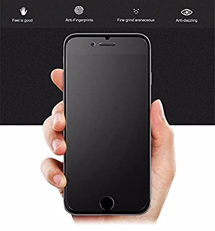 check out f772c 7548b iPhone 6, iPhone 6S Matte Glass Screen Protector, eTECH Tempered Glass  Screen Protector for Apple iPhone 6S, iPhone 6 [4.7