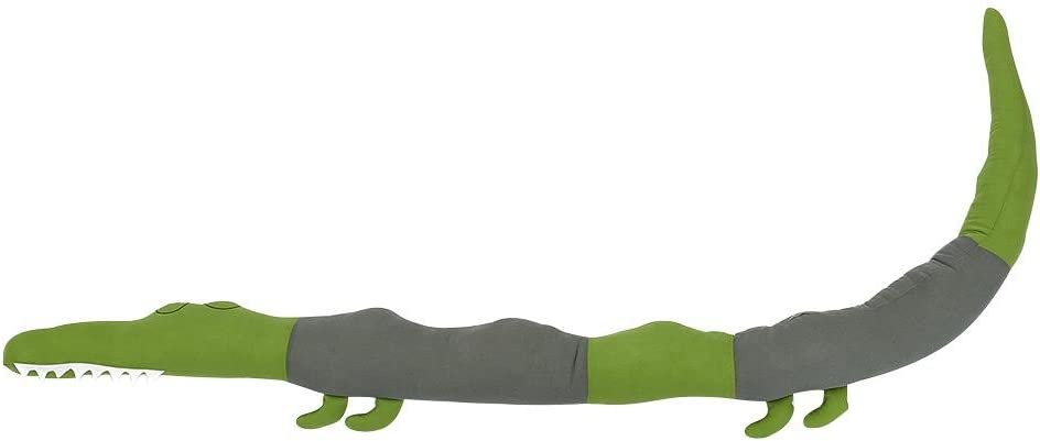 Jouet D/écoratif Crocodile Poup/ée de Rembourrage Serpent Coussin Oreiller Doux Confortable Protection Pour les Nouveau-n/és Lit Sommeil Pare-chocs B/éb/é Tour de Lit pour B/éb/é