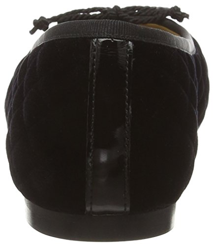 terciopelo Paco bailarinas P2935 de negro Gil negro mujer IUUCw4