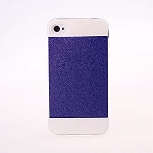 Hit Color Frosted & Shimmering Powder Effect TPU Case for iphone 4/4S --- COLOR:Orange