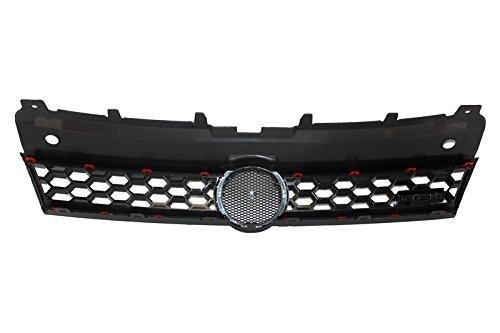 KITT/® FBVWPO6RGTI Parachoques delantero sin luces antiniebla PDC con cubiertas antiniebla