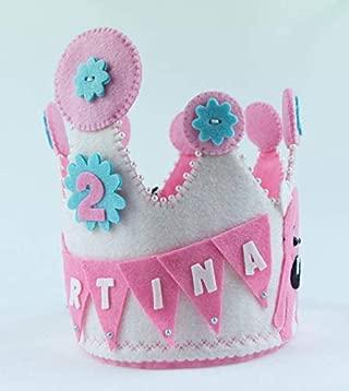 Corona Cumpleaños Martina y Anitram: Amazon.es: Handmade