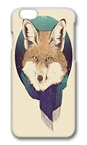 Apple Iphone 6 Case,WENJORS Adorable Fox Hard Case Protective Shell Cell Phone Cover For Apple Iphone 6 (4.7 Inch) - PC 3D by icecream design
