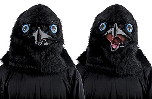 Mario Chiodo Men's Animated Raven Mask Theme Party Halloween Costume Accessory for $<!--$39.95-->