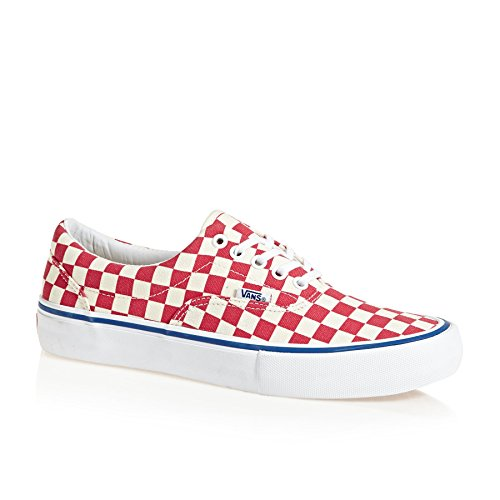Vans Era Pro Shoes 10.5 B(M) US Women/9 D(M) US Checkerboard Rococco Red Classic (Era Checkerboard)
