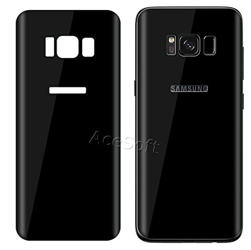 [3D Full Curved Edge] 9H Hardness Anti-Bubble Wear-Resisting Edge-to-Edge Shockproof Back Tempered Glass Screen Protector for Samsung Galaxy S8 SM-G950U Android phone