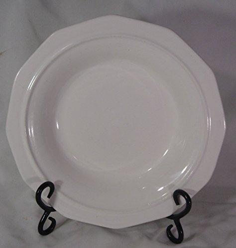 Heritage Rimmed Soup Bowl - Pfaltzgraff Wide Rimmed Soup or Pasta Bowls, set of 4