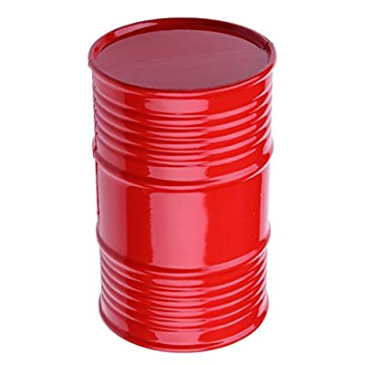 Hobbypark 1:10 RC Rock Crawler Decorative Accessories Plastic Oil Drum Container for Axial SCX10 Traxxas TRX-4 Trx4 Redcat Everest Gen7 Pro Tamiya CC01 RC4WD D90 D110 TF2 Truck Car Decor Parts: Toys & Games