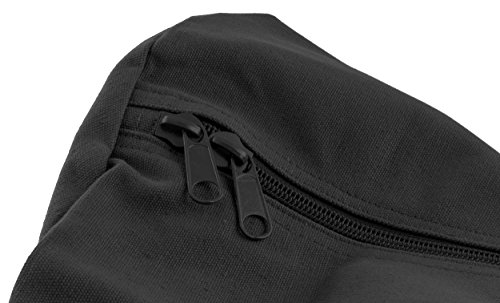 Stansport Deluxe Duffel Bag w/Zipper, Black - 50''X18''X18'' by Stansport (Image #2)