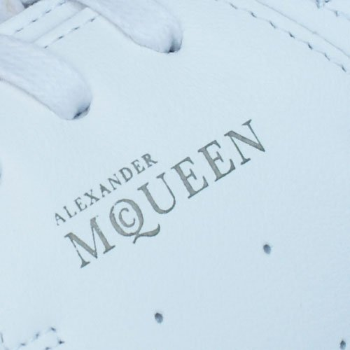Puma Alexander McQueen Summer Joust Mens Leather Sneakers / Hi Tops-White-10.5 by PUMA (Image #4)