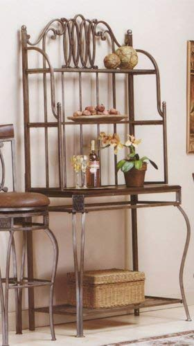 Hillsdale Furniture 41548H Montello Baker's Rack, Old Steel by Hillsdale Furniture (Image #2)
