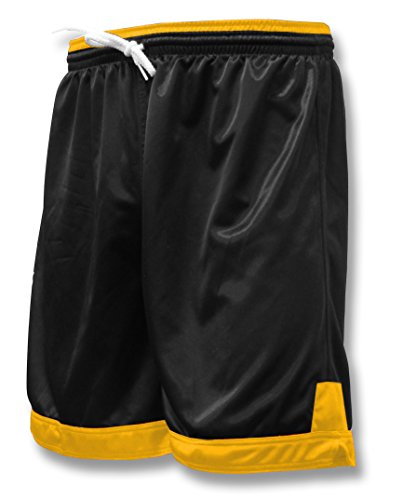 Winchester soccer team shorts for youths or adults - size Adult S - color Black/Gold