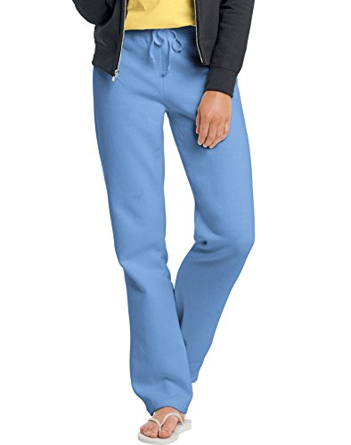 Hanes EcoSmart Cotton-Rich Womens Drawstring Sweatpants W550, XL, Carolina Blue (White Hanes Sweatpants)