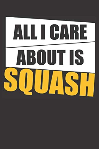 All I Care About Is Squash: Small blank sketchbook (6