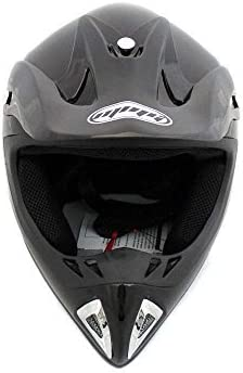Gloss Black Includes Goggles MMG 27 Adult Motorcycle Helmet Off Road MX ATV Dirt Bike Motocross UTV Medium