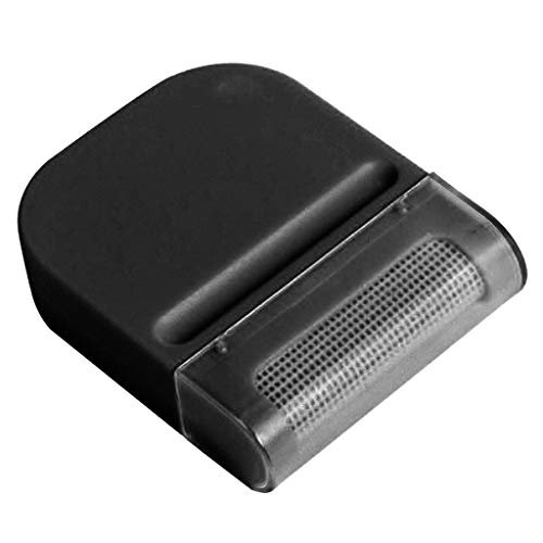 (BCDshop Lint Remover, Fabric Shaver, Portable Hair Ball Trimmer Fuzz Pellet Remover Cut Machine Epilator for Sweater Clothes, Blanket,Wool, Cashmere(Black))