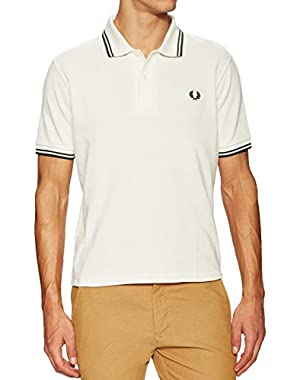 Men's Made in England Twin Tipped Polo Shirt