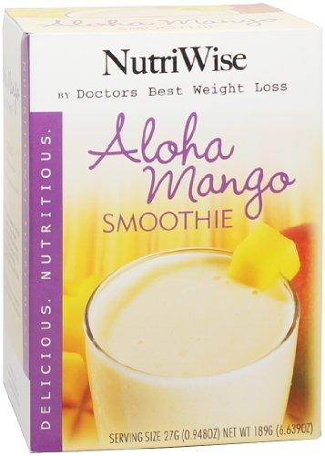 NutriWise - Protein Diet Fruit Smoothies - Aloha Mango (7 / boîte)