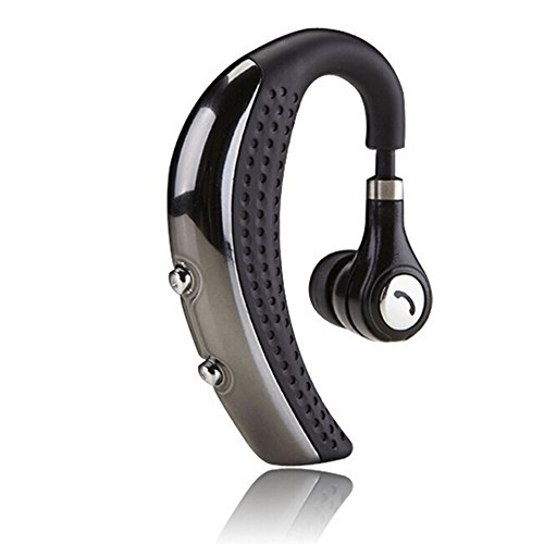 Headphones Earphones Palm - Sunvito Mini Stereo Wireless Bluetooth 4.0 Hanging-Ear Style Headset Headphone Earphone with Microphone for iPhone 6 Plus/6/5s,iPpad,Samsung Galaxy,Sony,Lg,Android Phone and Other Bluetooth Devices