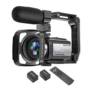 Flashandfocus.com 41touPaPFvL._SS300_ Video Camera Camcorder 4K 60FPS kicteck Ultra HD Digital WiFi Camera 48MP 3 inch Touch Screen Night Vision 16X Digital…
