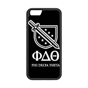 Phi Delta Theta BW iPhone 6 Plus 5.5 Inch Cell Phone Case Black Exquisite gift (SA_541933)