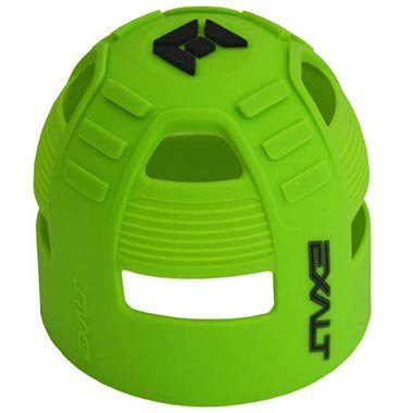Exalt Tank Grip HPA Buttplate - (Green Tank Cover)