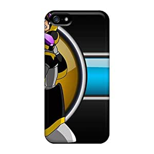 Top Quality Case Cover For Iphone 5/5s Case With Nice Mega Man Bass Appearance