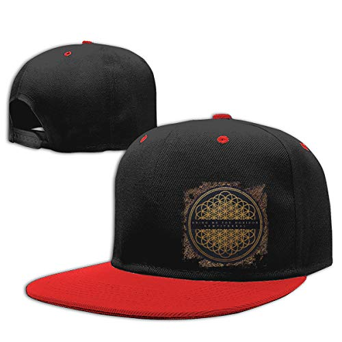 LEILEer Bring Me The Horizon Sempiternal Unisex Contrast Hip Hop Baseball Cap Red]()