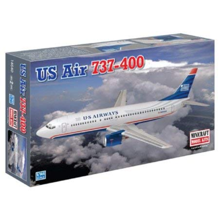 - Minicraft Models US Air 737-400, 1/144 Scale