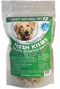 Only Natural Pet Fresh Kisses Dog Biscuits 1 lb 3 Pack