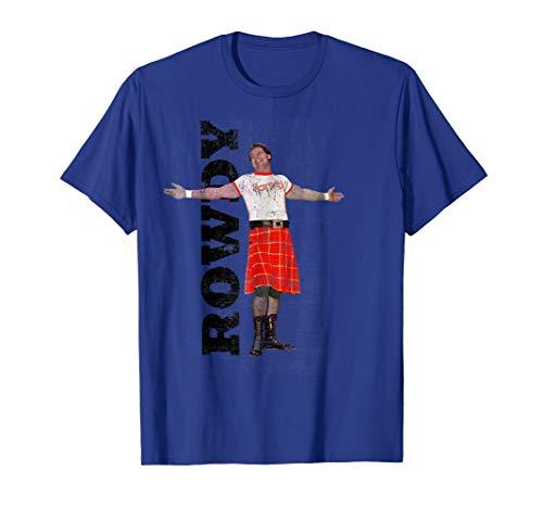 (WWE Rowdy Roddy Piper Vintage Distressed T-Shirt )