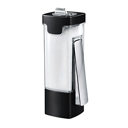 Portion Control Dispenser - Zevro Honey-Can KCH-06071 Indispensable Sugar 'N More Dispenser, Black/Chrome