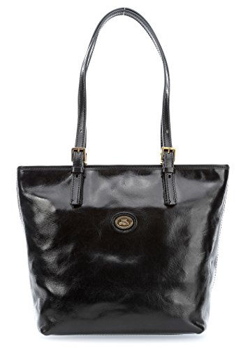 The Bridge Borsa Shopper STORY DONNA in pelle marrone 049015/01/14 schwarz, schwarz