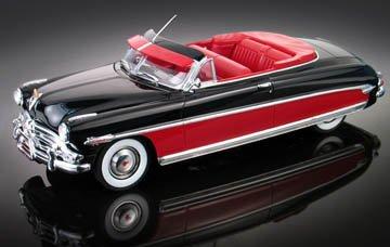 Kit Classic Car Model - Moebius 1:25 Scale 1952 Hudson Hornet Convertible Model Kit