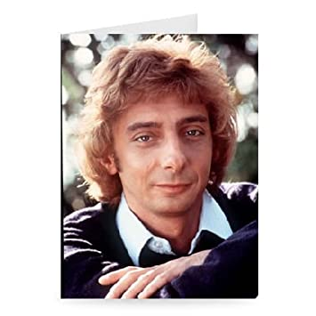 Amazon Barry Manilow Greeting Card Pack Of 2 7x5 Inch