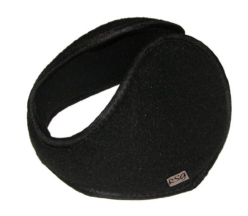 RSG Ear Warmers Muffs Adult Heavy Gauge Metal Underwire (Black) (Insulated Ear Muffs compare prices)